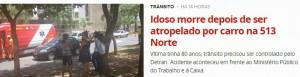 Noticia_G1-DF_29-11-2016_Acidente_Morte_Pedestre_W3 Norte_513N