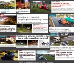 Noticias_Manchetes_Acidentes Transito_Maio-2017'
