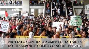 Video_Protesto_Aumento Passagem_print screen
