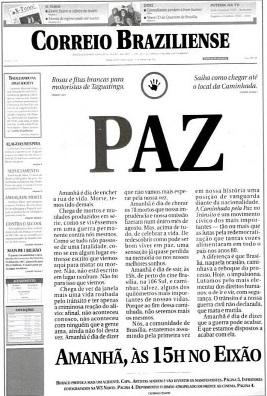 Jornal com texto preto sobre fundo branco  Descrição gerada automaticamente com confiança média