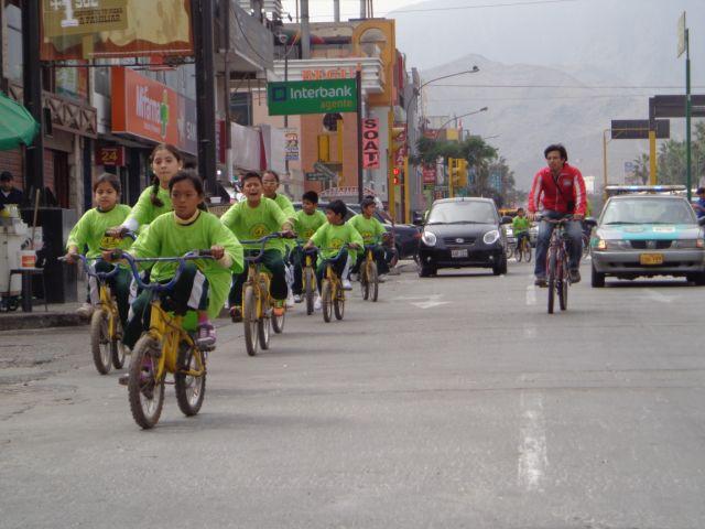 Programa Al Cole en Bici Lima