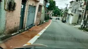 Onde não há ciclofaixa, também não há reclamação da ausência de calçadas