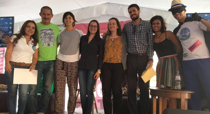 Latino americanos no 3er Congreso Peatonal no Mexico