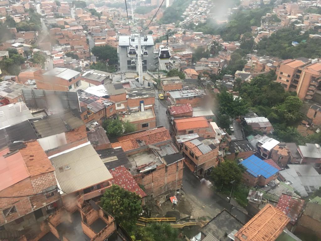 Metrocable San Javier. Foto: Leticia Sabino