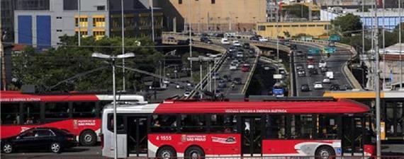 Metas para SP: até 2024, mais ônibus elétricos, BRT, corredores, faixas...