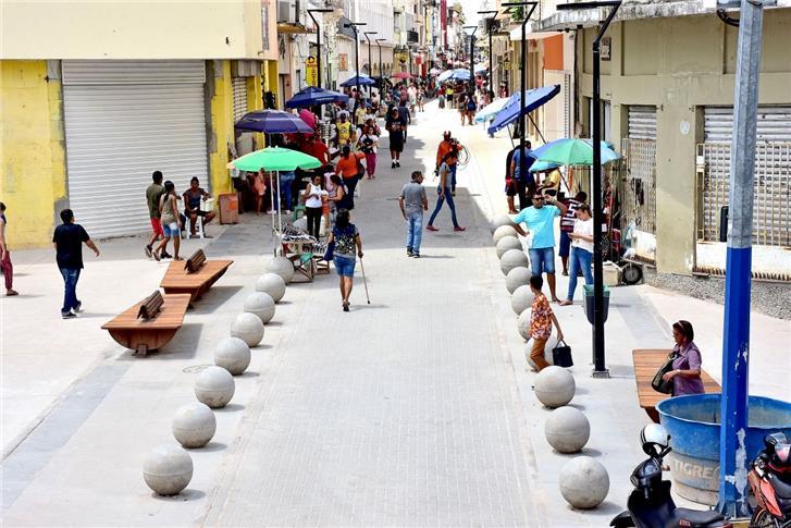 Requalificação da Rua Grande, em São Luís (MA)