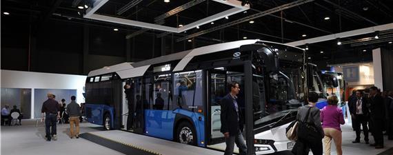 Na Bélgica, uma feira dedicada ao transporte por ônibus sustentável