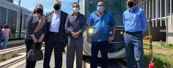 Comissão faz visita técnica e defende retomada do VLT de Cuiabá
