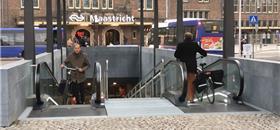 Maastricht, na Holanda, ganha novo bicicletário subterrâneo