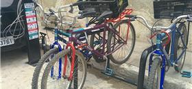Recife inaugura estação de sistema de bikes comunitárias