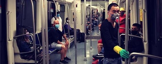 Barcelona testa sistema de ventilação contra covid-19 no metrô