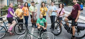 Ciclovia Musical percorre ruas da zona leste de SP neste sábado (22)