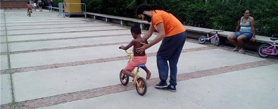 No mês da criança, bicicletadas infantis e outras atrações em SP