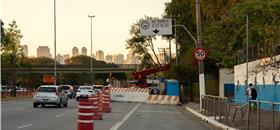 O efeito inesperado de uma obra: tráfego mais calmo