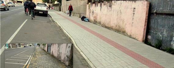 Calçadas acessíveis: o exemplo de Porto União, em Santa Catarina