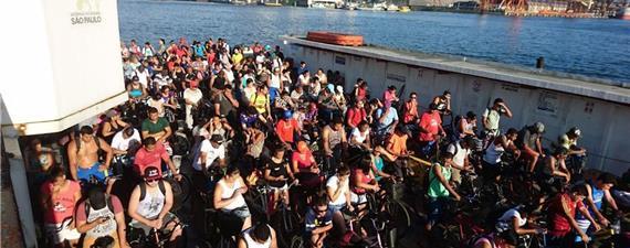 Com 10 mil ciclistas/dia, Guarujá lança selo Cidade Amiga do Ciclista
