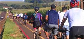 Cidade do Paraná ganha ciclovia rodoviária