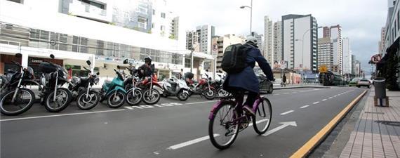 Curitiba tem mais novos ciclistas que a média nacional, aponta pesquisa