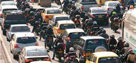 Motos invadem a Colômbia