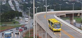 Obras do BRT Sul em Brasília foram fraudadas, denuncia juiz