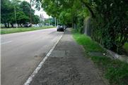 Calçadas em Porto Alegre 2019