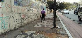 Calçadas e sinalização para pedestres continuam precárias nas 27 capitais do país