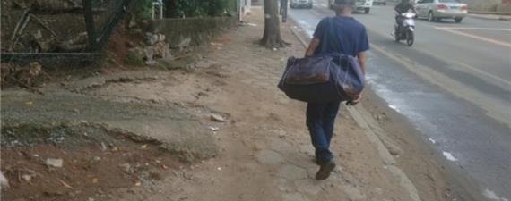 Grande Vitória: 43 notificações por dia contra calçadas irregulares