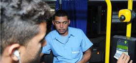 Biometria facial começa a ser testada no transporte público de Brasília