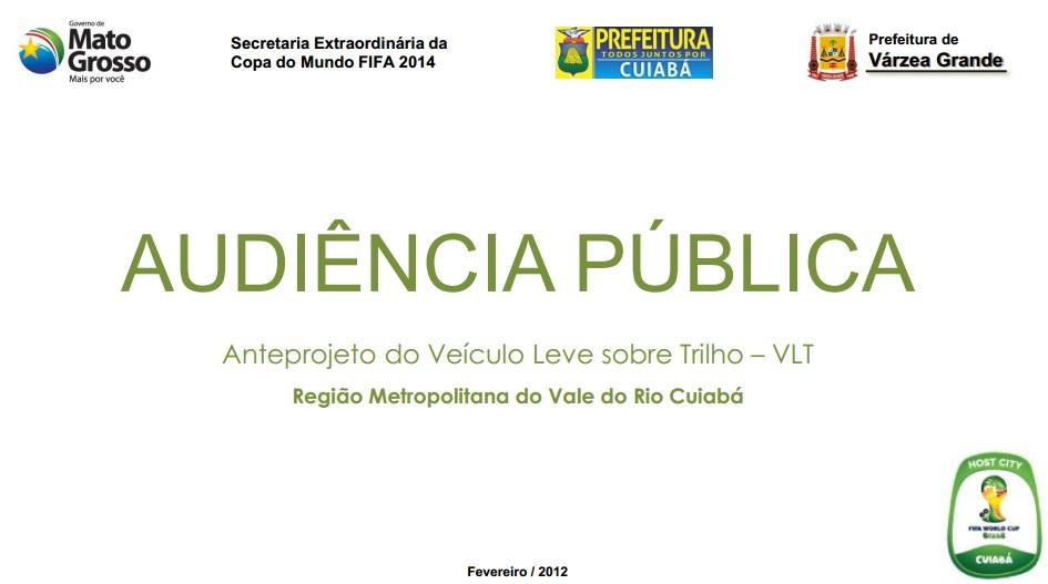 Capa da apresentação