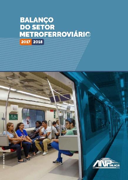 Capa do Balanço Metroferroviário 2017/2018