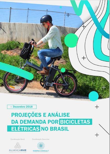 Capa do estudo sobre bicicletas elétricas da Alian