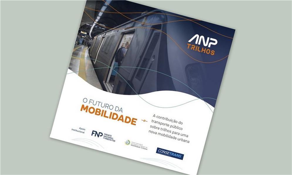 Capa do trabalho: trilhos urbanos no Brasil