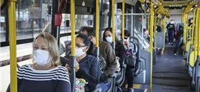 Pessoas com coronavírus são 0,03% dos usuários de ônibus em Curitiba