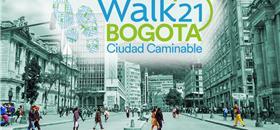 Organizações brasileiras participam da Walk21 em Bogotá
