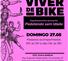 Cartaz do festival Viver de Bike, em SP