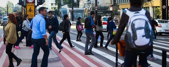 Ciclistas e pedestres nas eleições de 2020