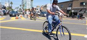 Pandemia traz 'boom' da bicicleta em cidades americanas improváveis