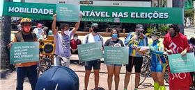 Ciclistas lançam Carta de Mobilidade Sustentável para eleições no Recife