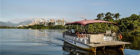 Transporte aquaviário na Barra (RJ) ganha força