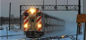 Onda de frio nos EUA leva companhia de trem a
