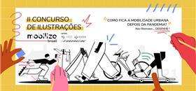 Concurso Mobilize de Ilustrações: Inscrições prorrogadas até 20/8