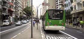 Corredores de ônibus reduziriam tempos de viagem em até 30%