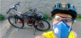 Em Maceió, estudantes criam bicicleta movida a energia solar