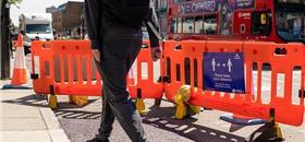Agora é Londres... contra a covid-19, mais ciclovias e calçadas amplas