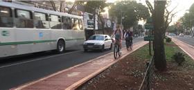 Maringá (PR) tem o dobro da média nacional em deslocamentos de bike