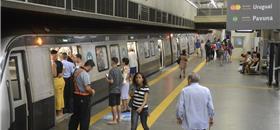 Mapa estimula caminhada entre estações do metrô do Rio