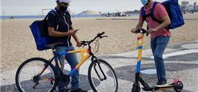Com bikes e patinetes, C&A lança serviço de entregas no mesmo dia