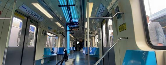 Metrô/SP testa radiação ultravioleta para esterilizar trens