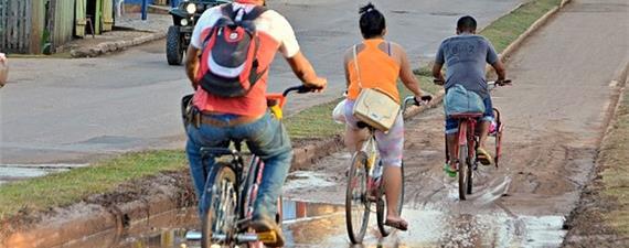 Em Rio Branco (AC), ciclovias estão sumindo