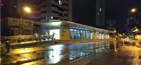 Estação BRT Benfica, no Recife, começa a funcionar